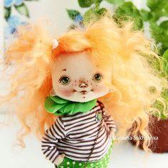 Кудряшка Сью . #куклысахаровойнатальи #кудряшки