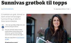 Grøt på ville veier:  .....les artikkelen i Hamar Dagblad, her!