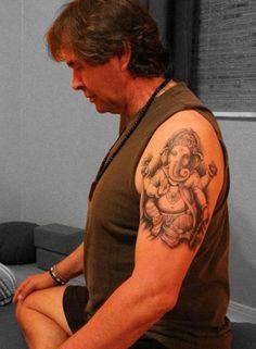 Ganesh tattoo on Gale Turner