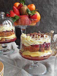 #zuppainglese #trifle #postresdeaprovechamiento #postresdecuchara #postresfaciles #postresrapidos #postresbonitos #cocinaitaliana #cremapastelera #nata #fruta #biscotti