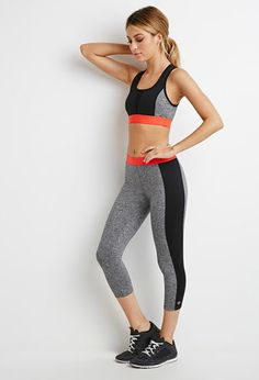 Look and feel your best in Forever 21 activewear and workout clothes for women! Get fit in our sports bras, leggings, shorts, crop tops & more. Workout Attire, Workout Wear, Nike Outfits, Sport Outfits, Sport Fashion, Fitness Fashion, Grey Sports Leggings, Forever 21, Shop Forever