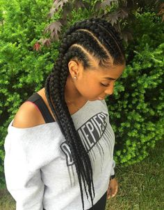 goddess braids hairstyle