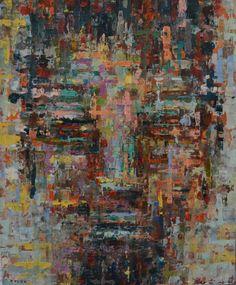 """Saatchi Art Artist Dejan Bozinovski; Painting, """"Anonymous - SOLD [USA]"""" #art"""