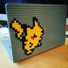 Pikachu Pokemon MacBook Case from BrikBook.com pikachu, pokemon fan art, pokemon pixel art, pikachu art, pokemon collector, macbook, macbook case, pixel, pixel art, 8bit Shop more designs at http://www.brikbook.com #pikachu #pokemonfanart #pokemonpixelart #pikachuart #pokemoncollector #macbook #macbookcase #pixel #pixelart #8bit