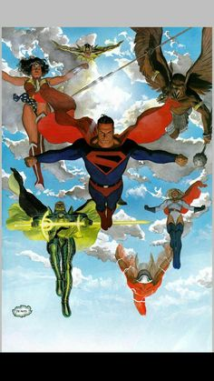 Justice League - Kingdom Come by Alex Ross