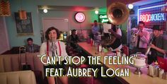 """JT's hit """"Can't stop the feeling"""" feat Aubrey Logan! http://postmodernjukebox.com/post/cant-stop-feeling-new-orleans-brass-band-cover-ft-aubrey-logan/"""