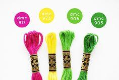 Idea Garden | a DMC embroidery floss palette. (I love a go… | Flickr