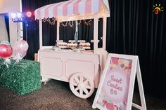 Chelsea's Sweet Shoppe Themed Party – Sweet Teats Candy Theme Weddings, Charms Candy, Land Girls, Ice Cream Candy, Candy Buffet, Something Sweet, Candyland, 1st Birthday Parties, Party Themes