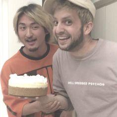 LAに帰ってもまだまだ続く。笑  #HappyBirthday #28 #たか殿の顔ケーキはなかなか貴重☺︎笑