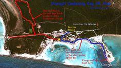 Disney Castaway Cay 5K Map. Gotta be accountable on vacay!!