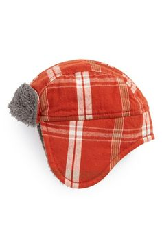 Tucker + Tate 'Flight' Plaid Trapper Hat (Baby Boys) available at #Nordstrom