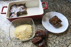 Glutén, tojás és tejmentes nyers brownie