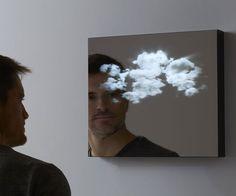 Cloud mirror LUCID 3D LED Mirror