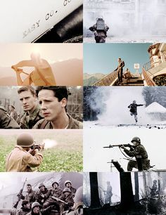 Band of Brothers - Filtering necessary. It is the story of real veterans of WWII in Europe. Happy Veterans day!