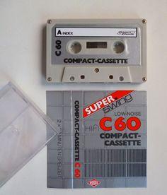 1 RULAG SUPER swing cassette 60 / Audiokassette / Leerkassette