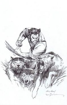 Wolverine by Andy Kubert and Bill Sienkiewicz