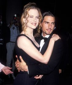 Nicole Kidman and Tom Cruise in 1994.
