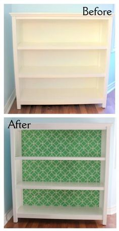 Gorgeous Bookcase Makeover & A Giveaway! :: YummyMummyClub.ca