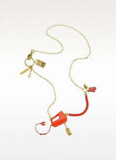 Cuisiniere - Little Baker Long Necklace
