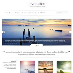 Evolution WordPress Theme by ElegantThemes | Best WordPress Themes 2013