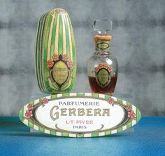 L.T.PIVER «Gerbera» - (1912) Présenté dans son rare coffret