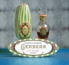 L.T.PIVER «Gerbera» - (1912) #perfume #vintage