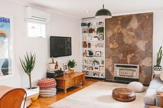 House Tour: An Airy, Eclectic Bohemian Australian Home | Apartment Therapy