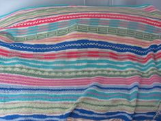 3rd afghan I made this winter for my other DIL