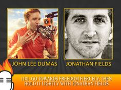 Go towards FREEDOM fiercely, then hold it lightly with Jonathan Fields