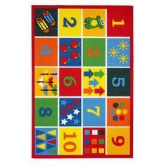 Shop wayfair.co.uk for your Playtime Numbers Red Area Rug. Find the best deals on all View all Rugs products, great selection and free shipping on many items!