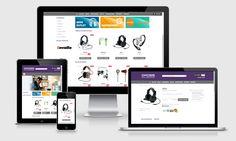 Diseño de tiendas online en Málaga, para negocios de todo tipo. Pagos online, gestión de productos, categorías, transporte, impuestos, stock, etc.