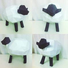 Sheep papercraft. You get a PDF digital file with templates