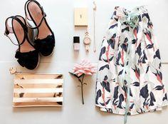 Van Gogh inspired wrap around skirt by Tatyana Kurbatoff and our fav summer essentials Wrap Around Skirt, Summer Essentials, Van Gogh, Beautiful Things, Inspired, Inspiration, Biblical Inspiration, Inhalation