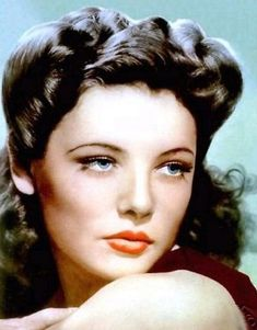 Gene Tierney vintag, gene tierney, gene doll, beauti women, classic beauti, movi, actor, hair, beauti woman