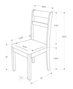 Free DIY Furniture Plans to Build a Shabby Chic Cottage Dining Chair - The Design Confidential Dinning Chairs, Solid Wood Dining Chairs, Side Chairs, Room Chairs, Bag Chairs, Lounge Chairs, Diy Furniture Plans, Wood Furniture, Furniture Design