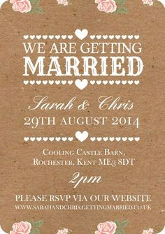 Dont forget to RSVP to Wedding Invites!