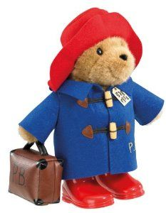 Paddington Bear - Classic Bear Free Standing with Case (33cm): Amazon.ca: Toys & Games
