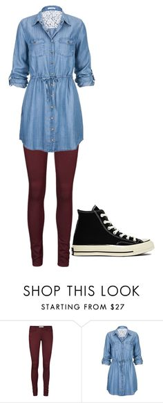 """""""Untitled #124"""" by lydia-loucks ❤ liked on Polyvore featuring Vero Moda and Converse"""