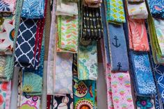 A variety of designs of headbands and wraps sold by So Twisted Up at Bazaar at the Point in Mt. Charleston Style, Headbands, Wraps, Design, Head Bands, Rolls, Rap
