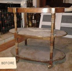 bar-cart before and after