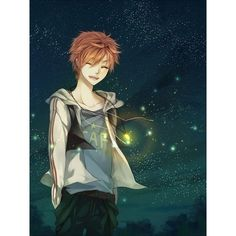 Anime Boys ❤ liked on Polyvore featuring anime and people