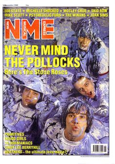 The NME was never really comfortable with the whole 'baggy' era but this was a brilliant cover