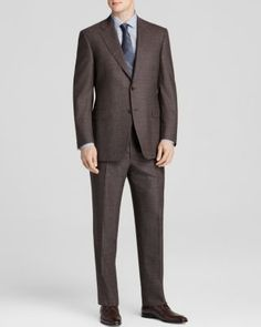 Canali Micro Houndstooth Siena Classic Fit Suit | Bloomingdale's