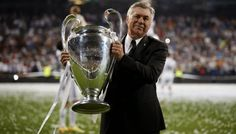 Carlo Ancelotti is keen to renew his contract with Real Madrid Carlo Ancelotti, Bob Paisley, Goodison Park, Club World Cup, Everton Fc, Tennis Match, The Right Man, Burnley, Sports