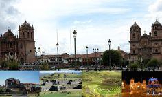 La ciudad de Cusco y sus bellos lugares turisticos, sacsayhuaman,moray,su plaza principal
