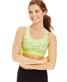 Nike Pro Printed Sports Bra - Juniors Activewear - Macy's
