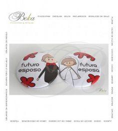 Botones para novios, detalles para novios, botones personalizados, boda, novios, detalles originales, www.bo-kasociales.com