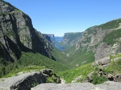less then 300 people hike here each year -Long Range Traverse in Gros Morne National Park, Newfoundland