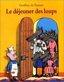 Le déjeuner des loups Best Books To Read, Good Books, My Books, Le Loup Sentimental, Album Jeunesse, Reading Club, Cycle 3, Teaching French, Story Time