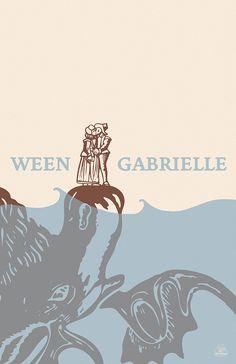"""Ween """"Gabrielle"""" Poster"""